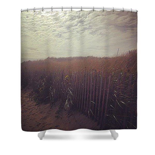 Off Season  Shower Curtain