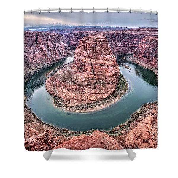 Horseshoe Bend Arizona Shower Curtain