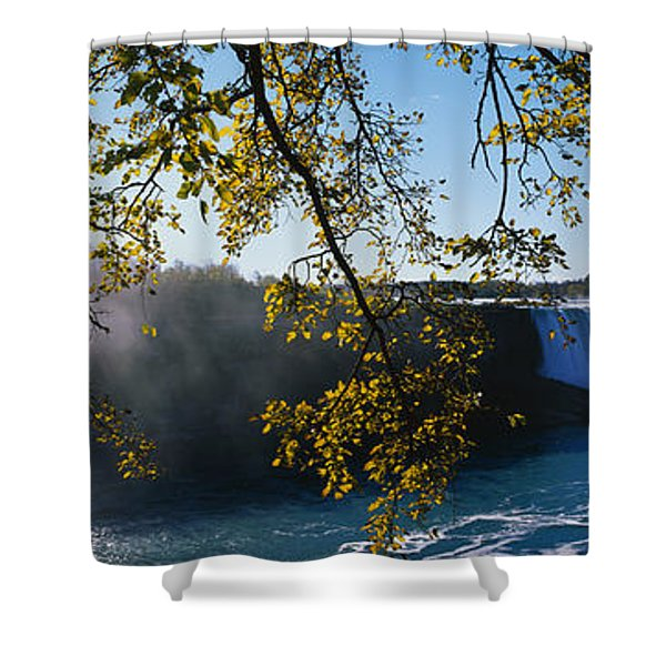 Horseshoe Falls Niagara Falls Ny Shower Curtain