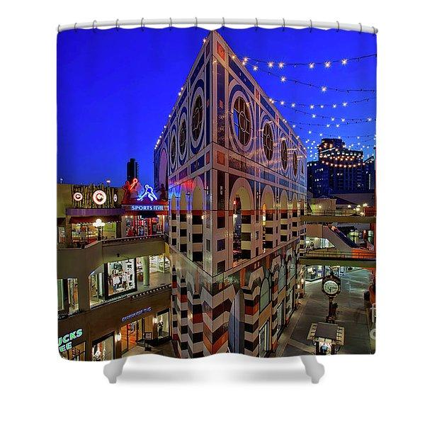 Horton Plaza Shopping Center Shower Curtain