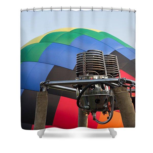 Hot Air Balloning Shower Curtain