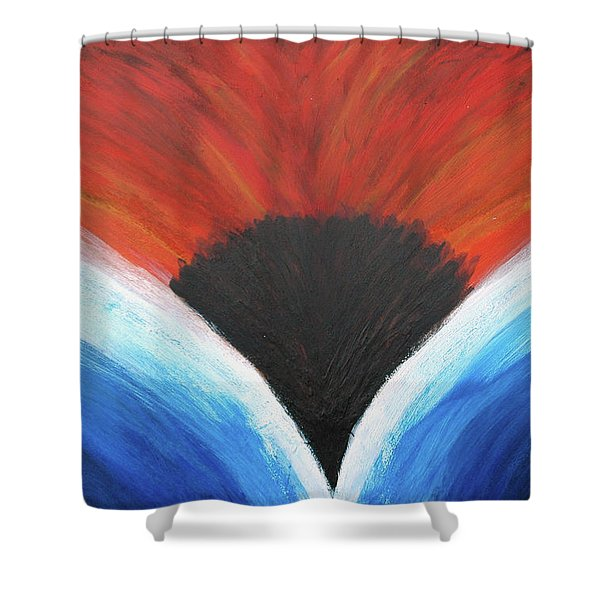 Hot And Wet Shower Curtain