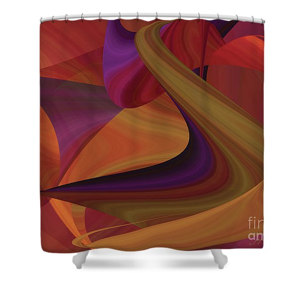Hot Curvelicious Shower Curtain