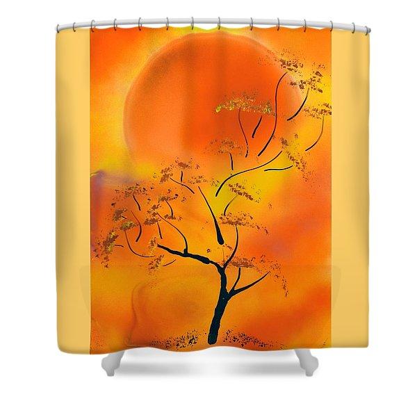 Hot Joy Shower Curtain