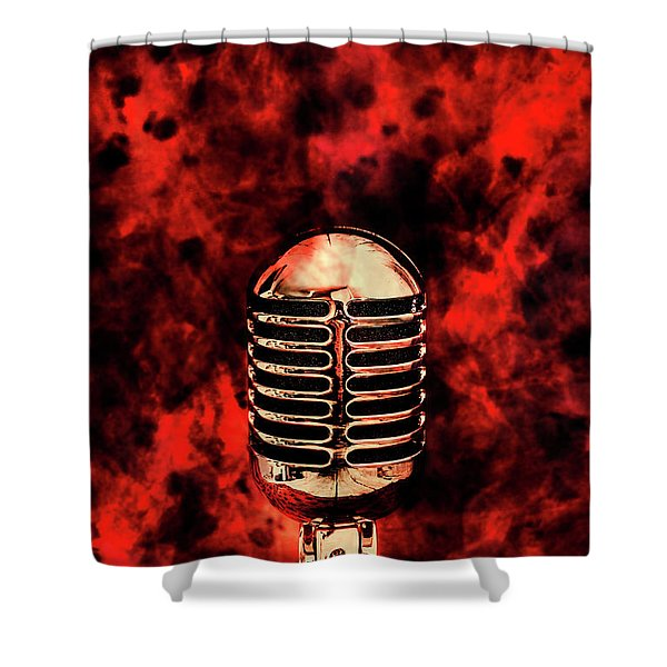 Hot Live Show Shower Curtain