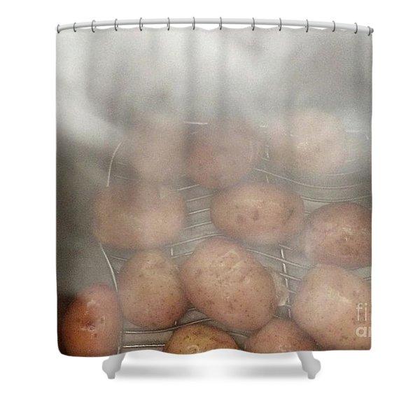 Hot Potato Shower Curtain