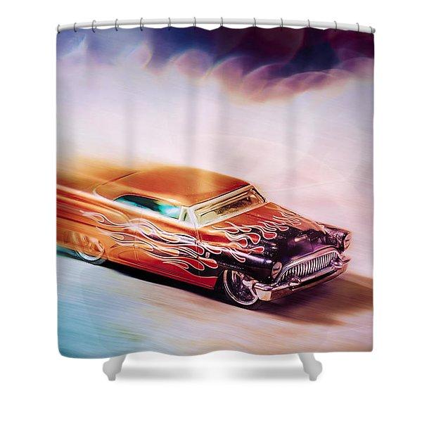 Hot Rod Racer Shower Curtain