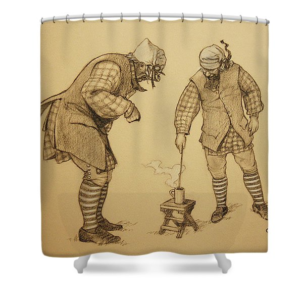 Hot Toddy Shower Curtain