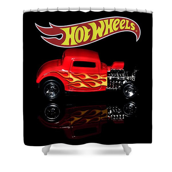 Hot Wheels '32 Ford Hot Rod Shower Curtain