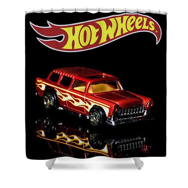 Hot Wheels '55 Chevy Nomad 2 Shower Curtain