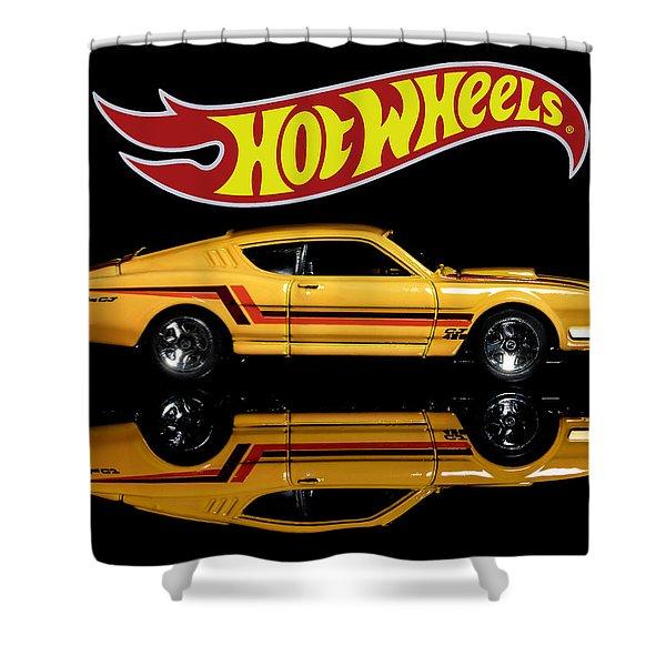 Hot Wheels '69 Mercury Cyclone Shower Curtain