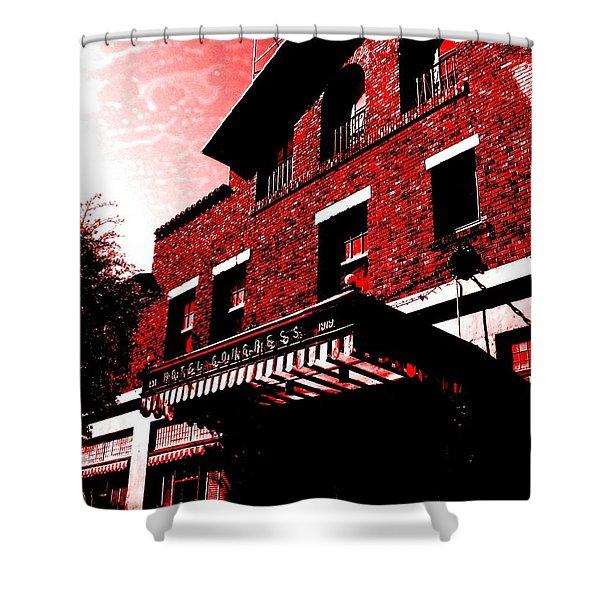 Hotel Congress Shower Curtain
