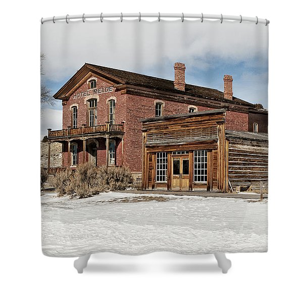 Hotel Meade And Saloon Shower Curtain