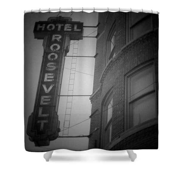 Hotel Roosevelt Shower Curtain