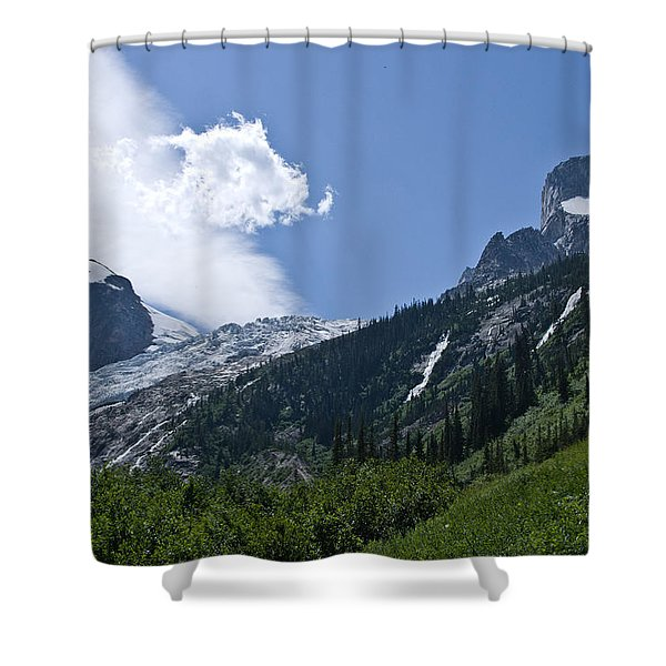 Hounds Tooth Shower Curtain