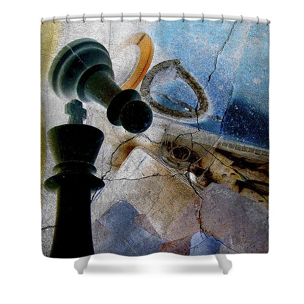 Hour Of Defeat Shower Curtain