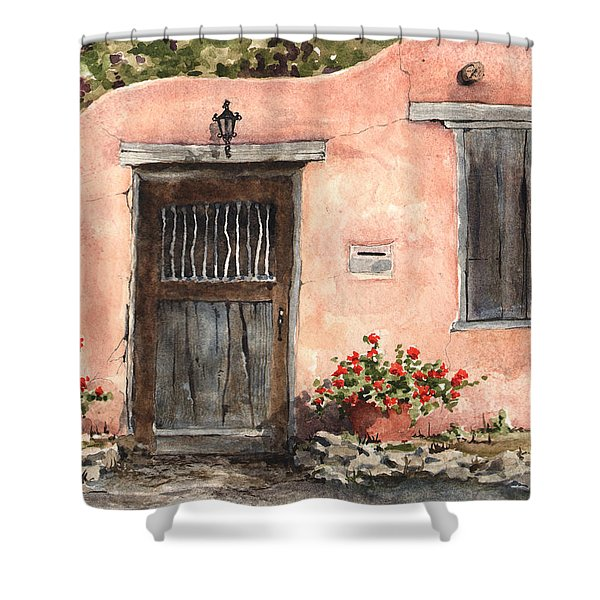 House On Delgado Street Shower Curtain