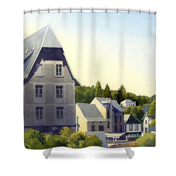 Houses At Murol Shower Curtain