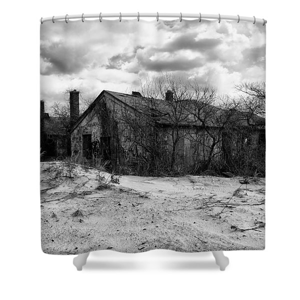 Houses In The Dunes Shower Curtain