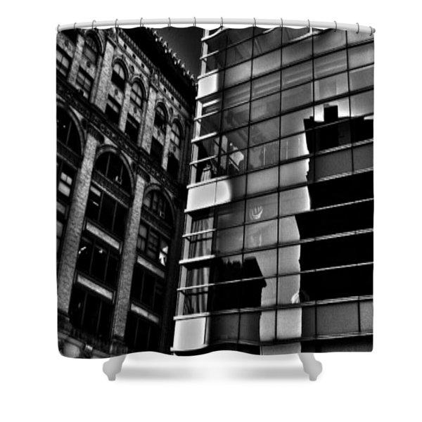 Houston Street Repose Shower Curtain
