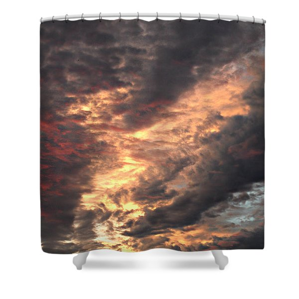 How About Them Clouds Shower Curtain