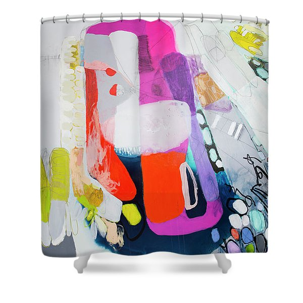 How Many Fingers? Shower Curtain