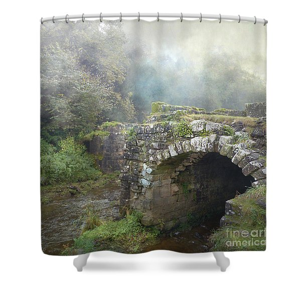 How Much Do You Love Her? Shower Curtain