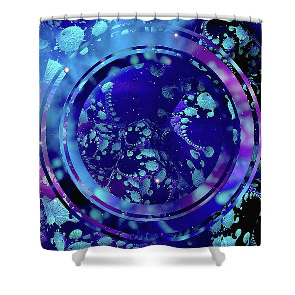Hubble 3014 Shower Curtain