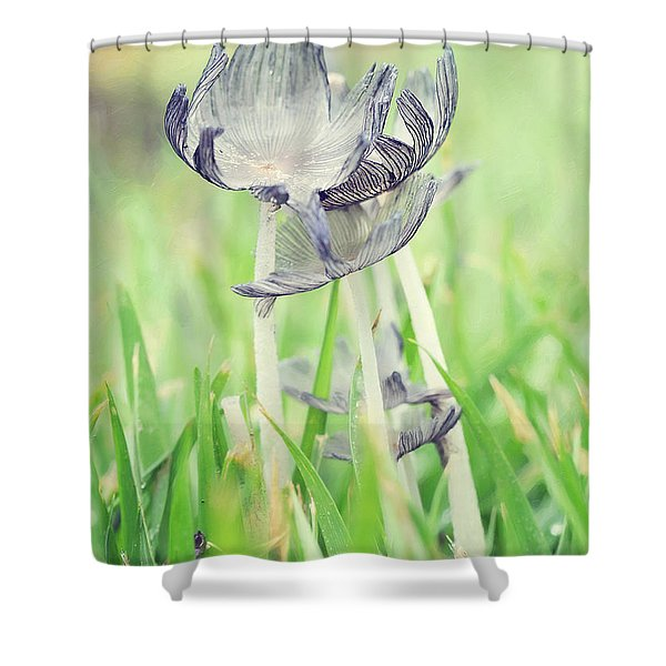 Huddled Shower Curtain