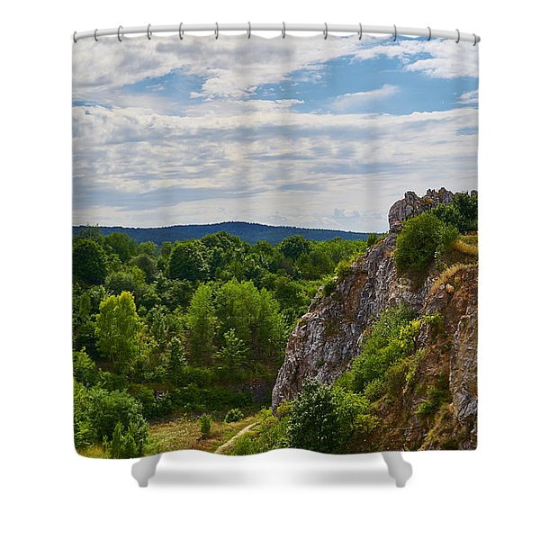 Hug A Rock Shower Curtain