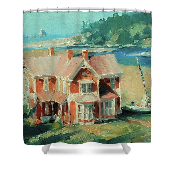 Hughes House Shower Curtain