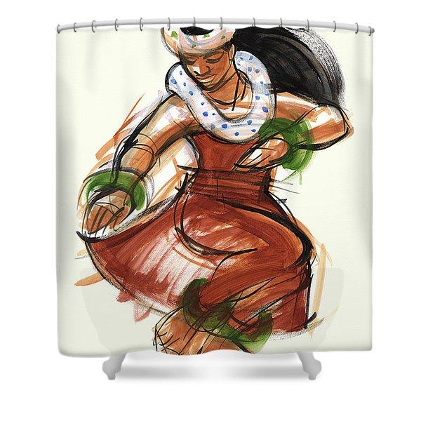 Hula Kona Shower Curtain