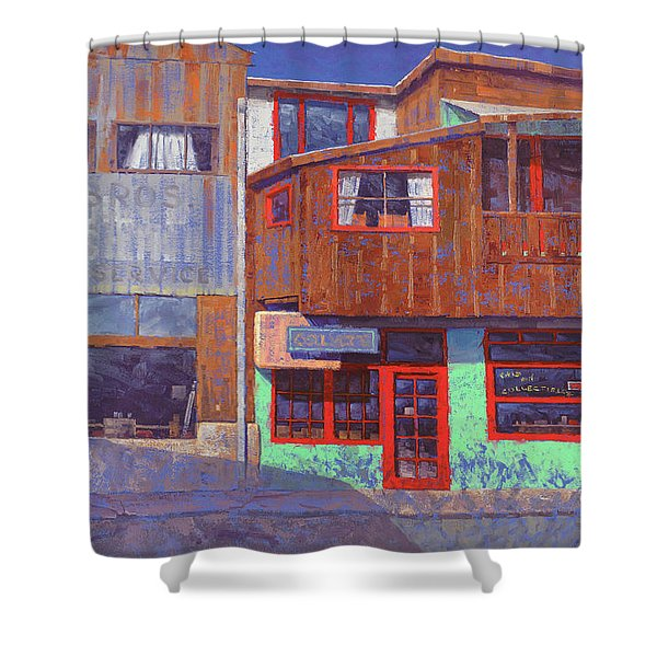 Hull Ave Hangover Shower Curtain