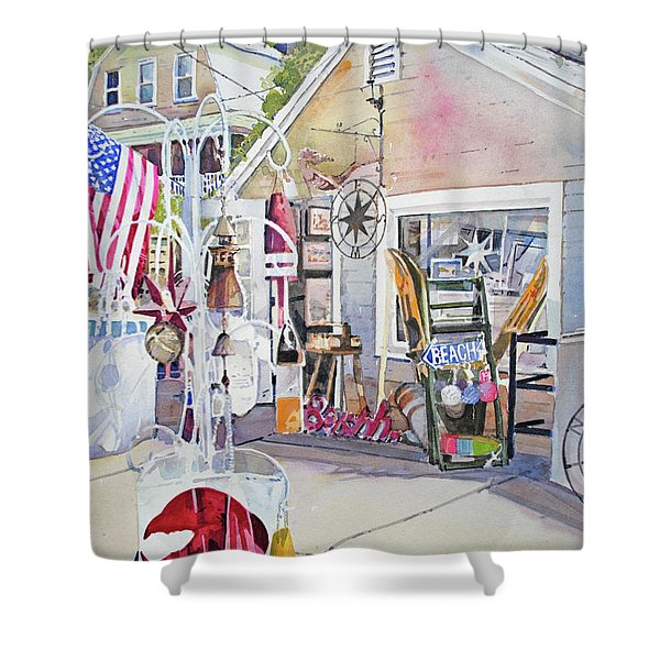 Hull Of A Shoppe Shower Curtain