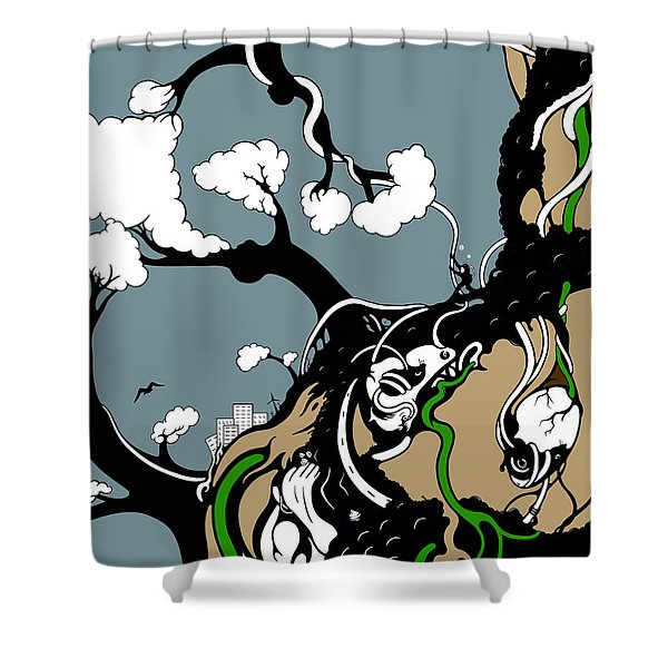 Humanity Rising Shower Curtain
