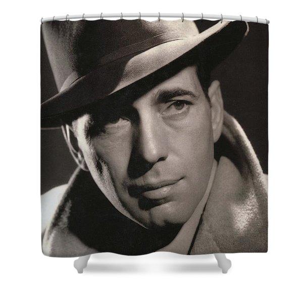Humphrey Bogart George Hurrell Photo #1 1939 Shower Curtain