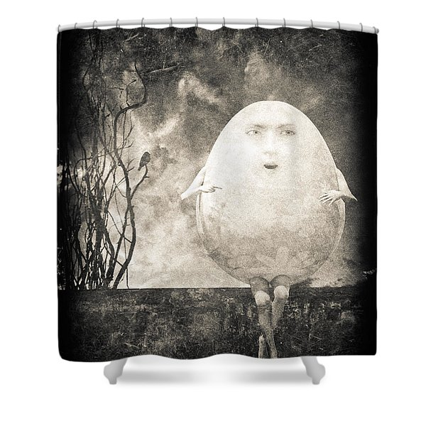 Humpty Dumpty Shower Curtain