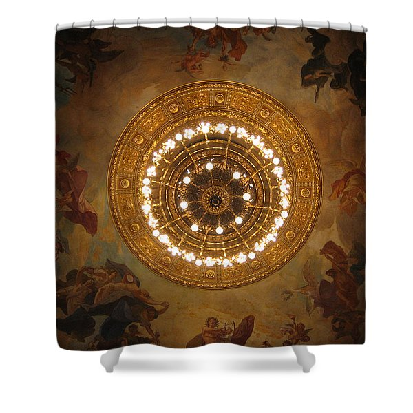 Hungarian State Opera House For Prints Shower Curtain