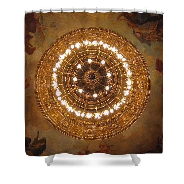 Hungarian State Opera Shower Curtain
