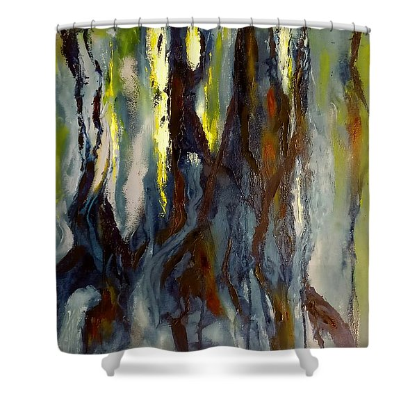Hunted Forest Shower Curtain