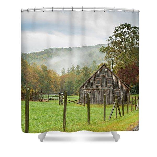 Hunting Cabin-3 Shower Curtain
