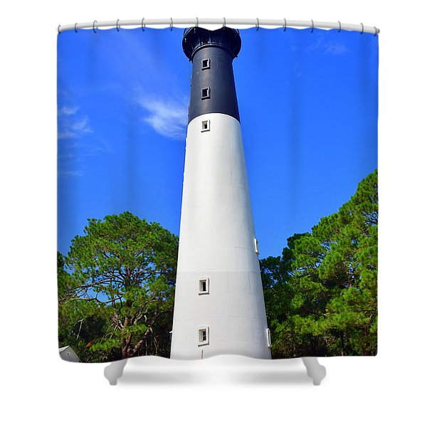 Hunting Island Lighthouse Beaufort Sc Shower Curtain