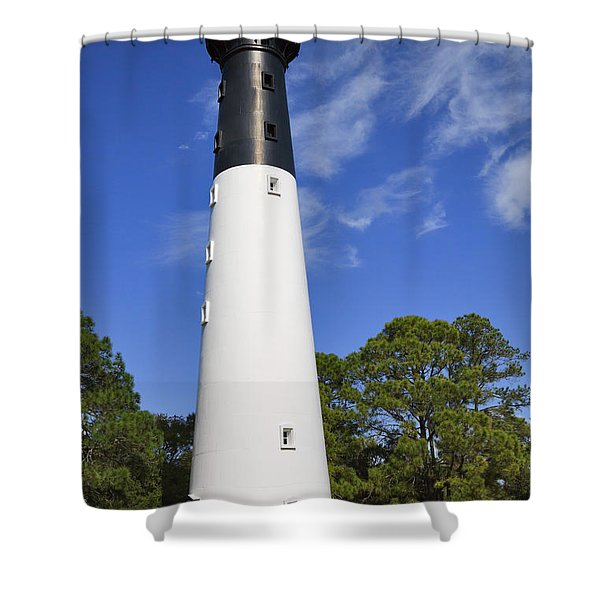 Hunting Island Lighthouse South Carolina Shower Curtain