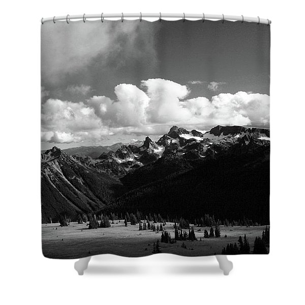 Hurricane Ridge Shower Curtain