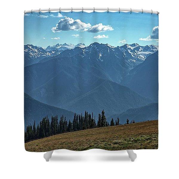 Hurricane Ridge Shower Curtain