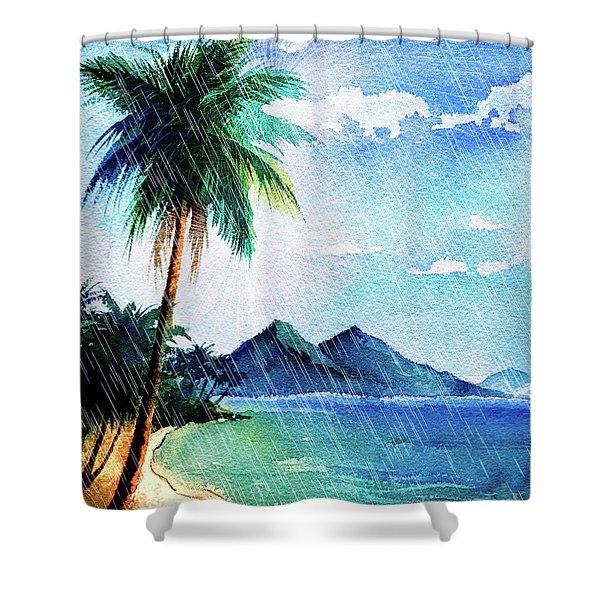 Hurricane Season Shower Curtain