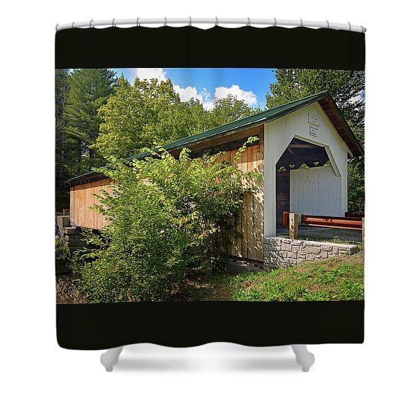Hutchins Bridge Shower Curtain