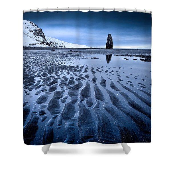 Hvitserkur, Iceland Shower Curtain