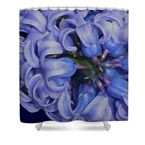 Hyacinth Curls Shower Curtain