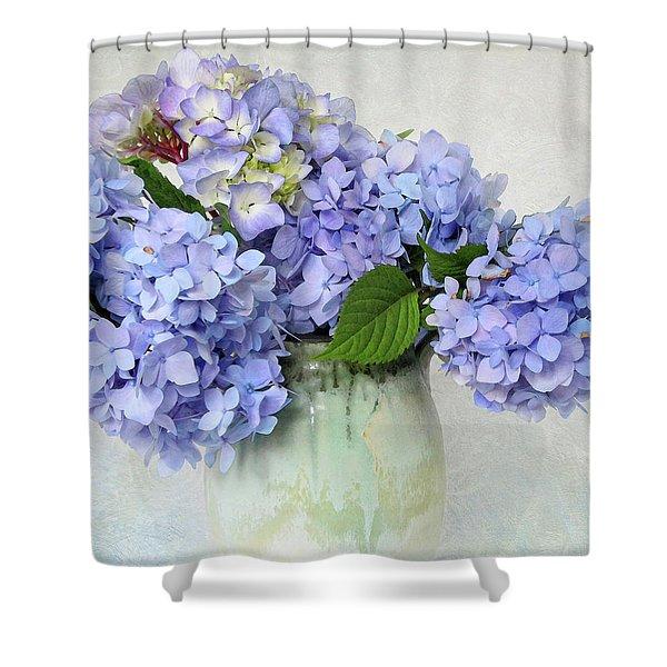 Hydrangea 1 Shower Curtain